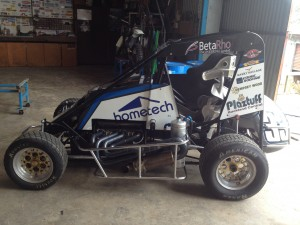 Plaztuff Speedway Midget Inside